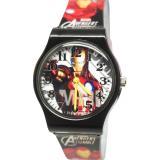 Marvel漫威系列 英雄鋼鐵人休閒手錶(大03)