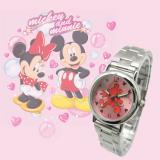 [正版迪士尼授權] 漫步Mickey米奇鋼帶錶