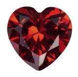 人造紅寶石 心型 HS 紅#7 3mm