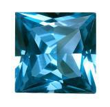 人造尖晶石 正方形 SQ 藍#120 6mm X 6mm