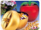 金蘋果糖果盒