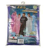 【CandyOiler】尊爵型 尼龍全開式雨衣|多色可選 警用反光條 夜行衣 隱藏式帽子