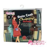 【COCORO樂品】日式風衣雨衣(媚惑紅)|風衣 雨衣 附同花色手提收納袋
