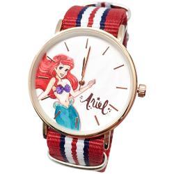 迪士尼超薄玫瑰金錶款-小美人魚公主