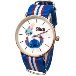 迪士尼超薄玫瑰金錶款-史迪奇