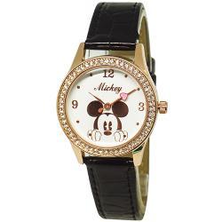 [迪士尼] 水晶鑽腕錶-酷黑米奇