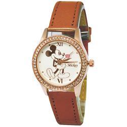 [迪士尼] 水晶鑽腕錶-爵士米奇