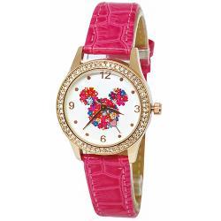 [迪士尼] 水晶鑽腕錶-繽紛米妮