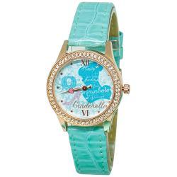 [迪士尼] 水晶鑽腕錶-仙履奇緣