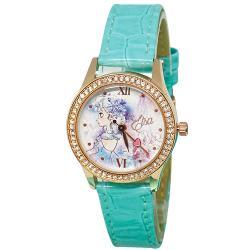 [迪士尼] 水晶鑽腕錶-純潔艾莎