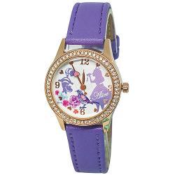 [迪士尼] 水晶鑽腕錶-夢遊愛麗絲