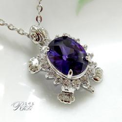 可愛紫色烏龜墬子 僅此一件