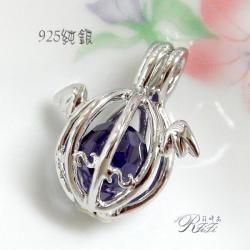 925純銀墬鍊-天使之珠