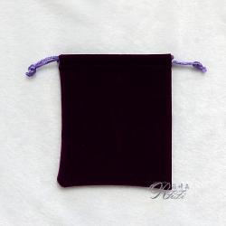 優質韓風絨布袋 紫色