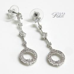 婚紗宴會-垂吊造型耳環(耳針)