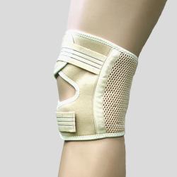 短版可調式護膝 (膚色)