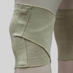 純棉交叉護膝