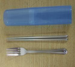 不鏽鋼環保筷匙組(一般材質)