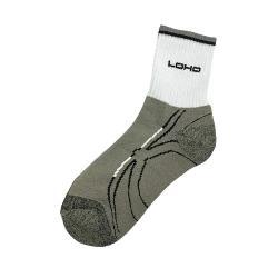 竹炭運動氣墊襪