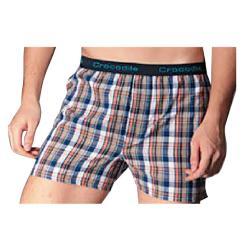 鱷魚織帶平口褲