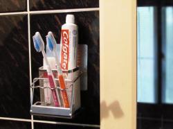 *新世代*SA-1T不鏽鋼貼掛牙刷架基本款
