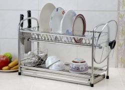 S-71G-A*精品*#304不鏽鋼餐盤架/瀝水架碗 盤架