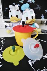 熱氣球矽膠真空杯蓋