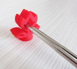 NG-鬱金香吸盤式筷架(兩入一組)