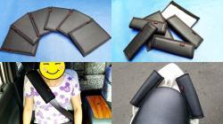 誠都牌, 1組/2只 汽車安全帶護套, 安全帶護肩套, 冰箱手把套, 機車扶手套, 鐵管護套, 防撞桿護套, 自行車橫桿套