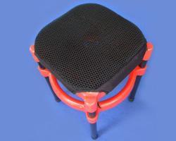 誠都牌,蜘蛛透氣網墊,雙層式,隔熱,防震,四腳椅專用
