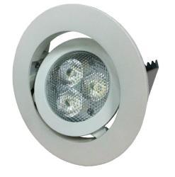 LED 3W 可調式崁燈
