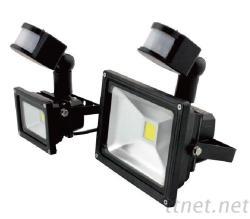 LED10W/20W/30W感應式投射燈