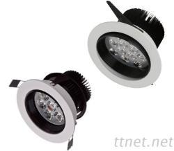 LED 7W/12W 360度旋轉嵌燈