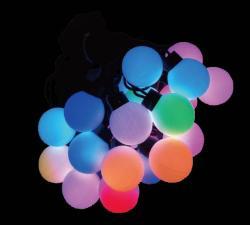 LED 大七彩球燈串