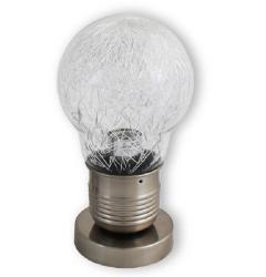 透明燈泡造型檯燈