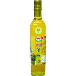 極品小果種冷壓苦茶油520ml/瓶