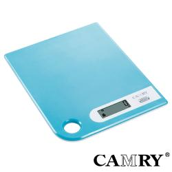 【CAMRY】數位廚房料理秤(藍)|料理秤 烘焙秤 廚房秤 磅秤 迷你電子秤 信件秤 計量器具
