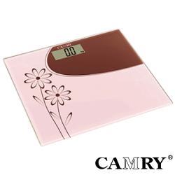 【CAMRY】花漾時尚數位體重計(輕薄型)|電子體重計 健康秤 精準電子秤 家用
