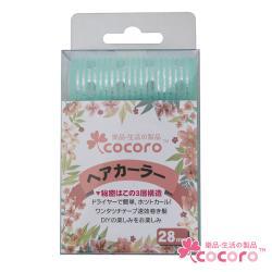 【COCORO樂品】魔鬼粘鋁片髮捲28mm 3入